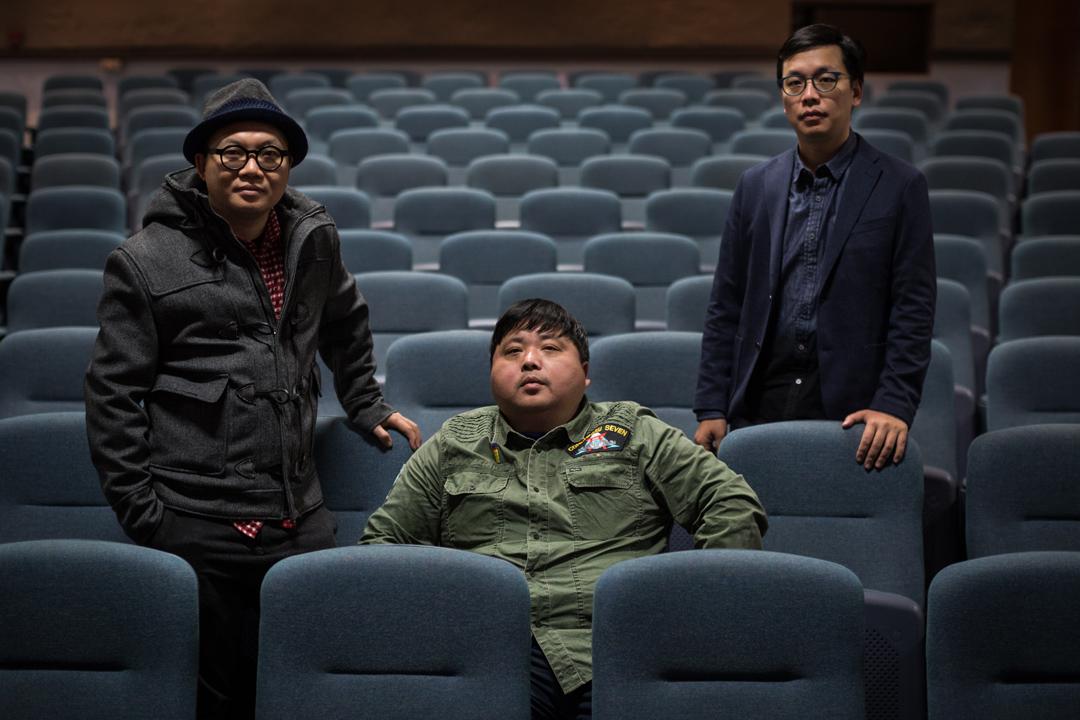 香港文化人廖偉棠、《少年心氣》導演彭洪武、《四十年》導演侯季然。