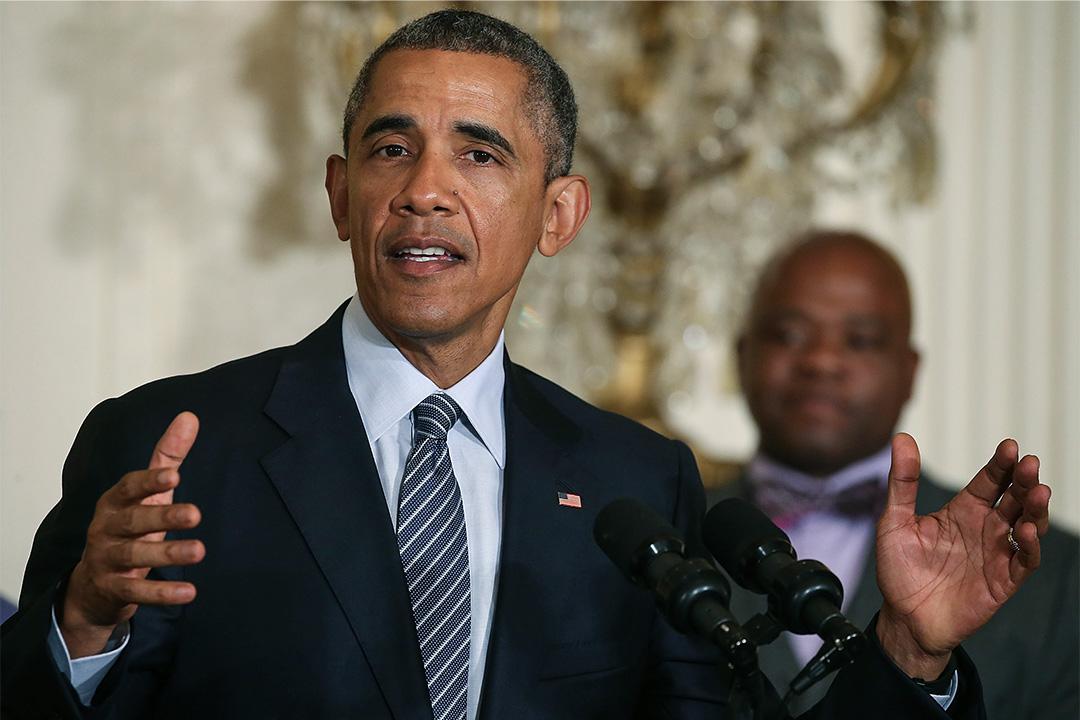 2015年8月3日,前美國總統奧巴馬在白宮召開記者會公佈《清潔電力計劃》重點。