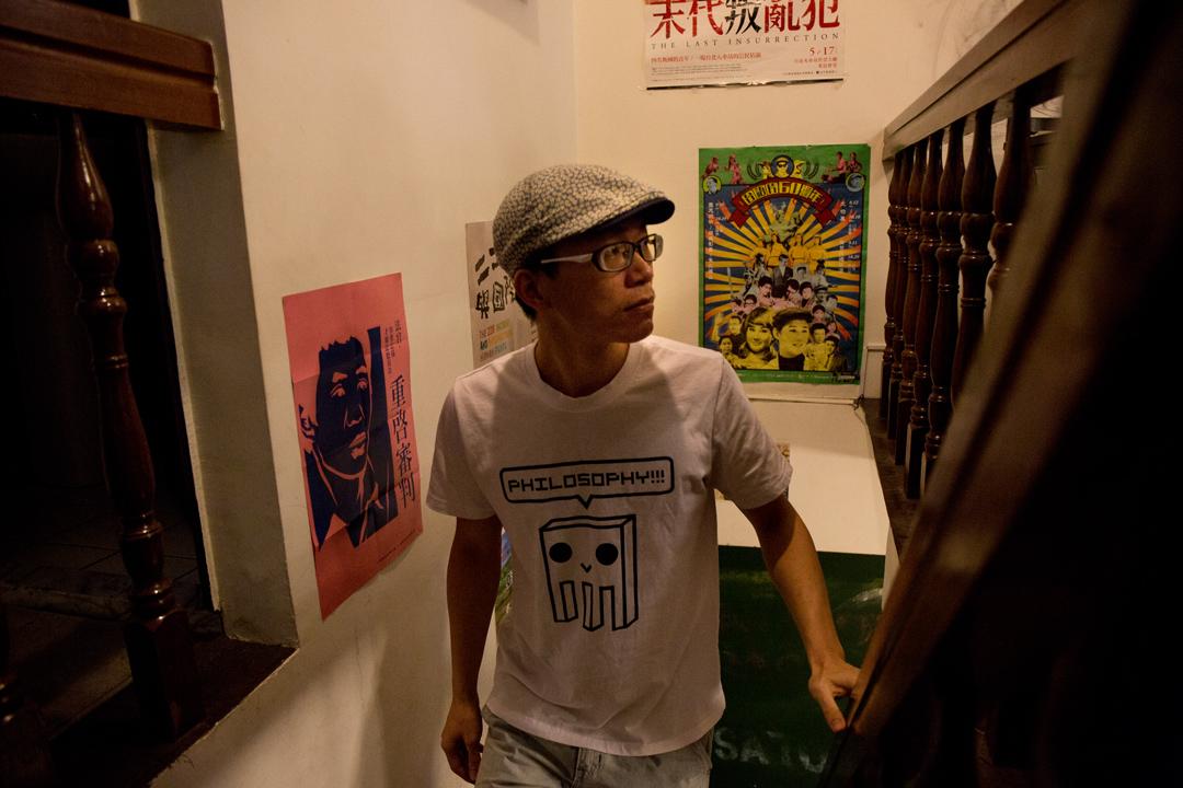 普哲網站「哲學哲學雞蛋糕」創辦人朱家安。