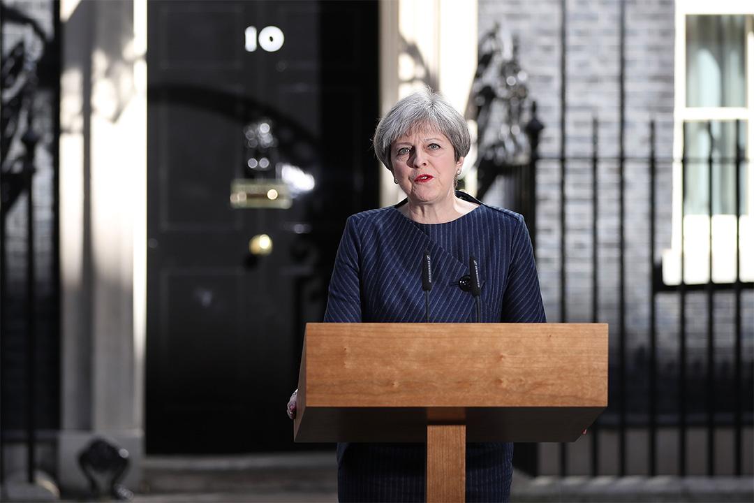 英國首相文翠珊宣布計劃提前大選。