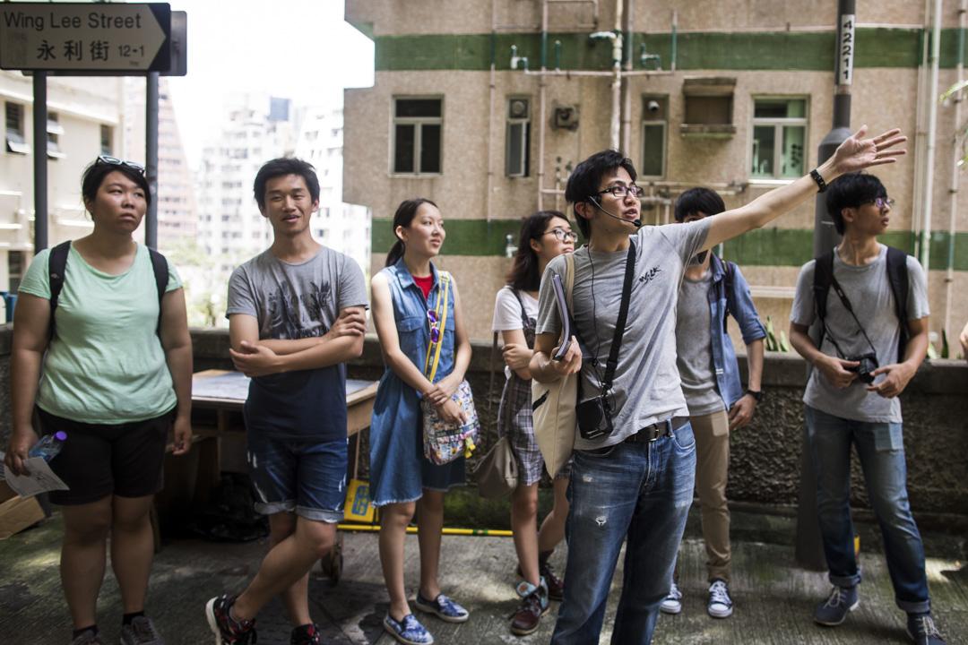 「活現香港」(Walk in Hong Kong)創辦人陳智遠,帶旅客深入香港,探索旅遊團少踏足的地方。