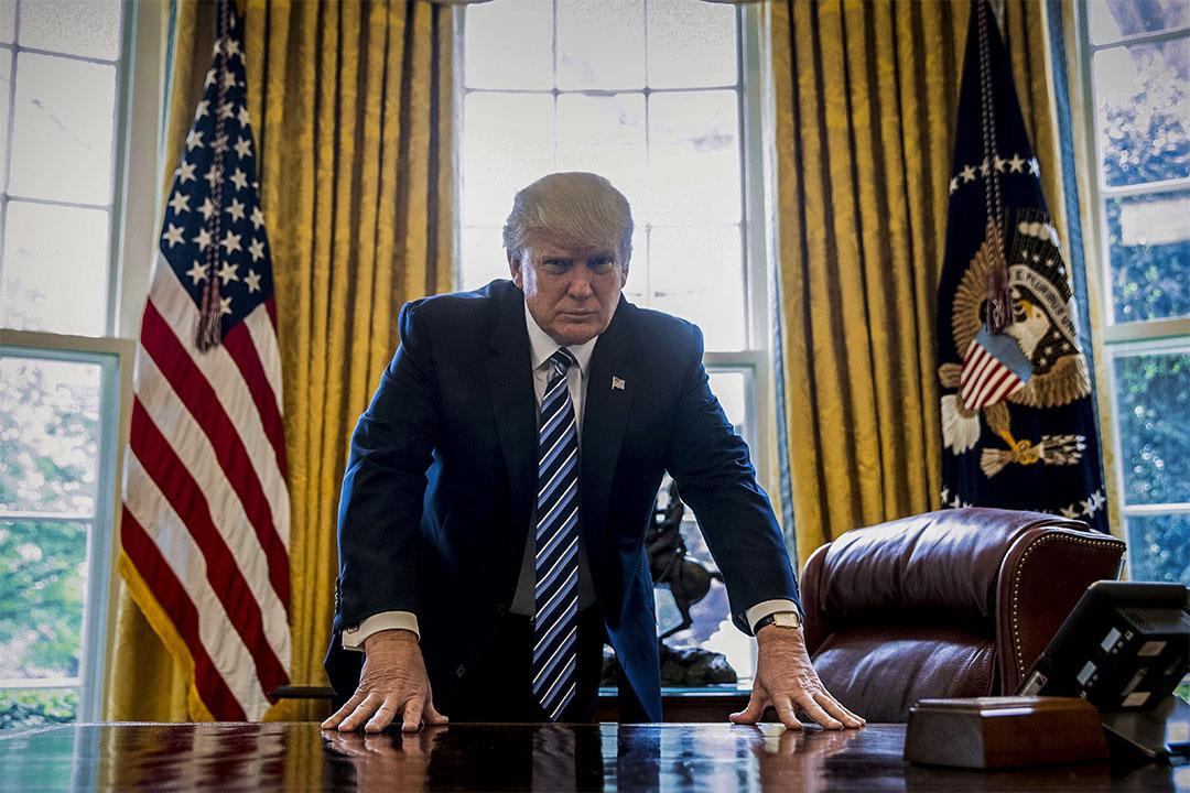 特朗普日前提出要立即終止奧巴馬醫改,並重申修建邊境牆的緊迫性。