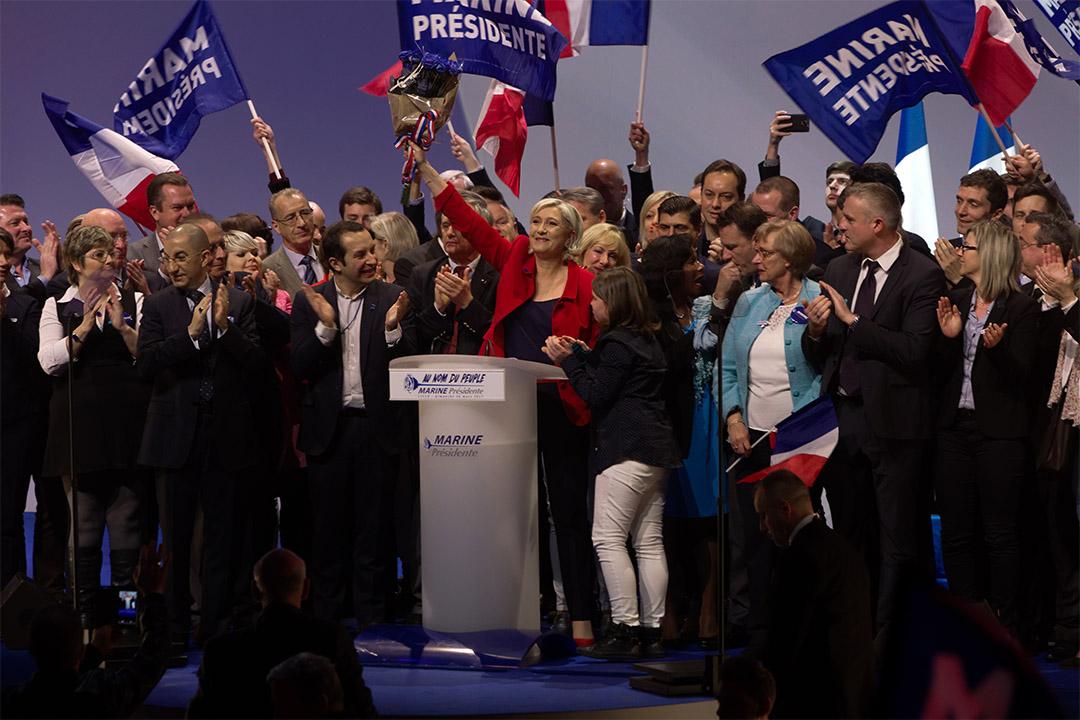 極右派民族陣線(Front national)候選人瑪琳·勒龐(Marion Le Pen)。