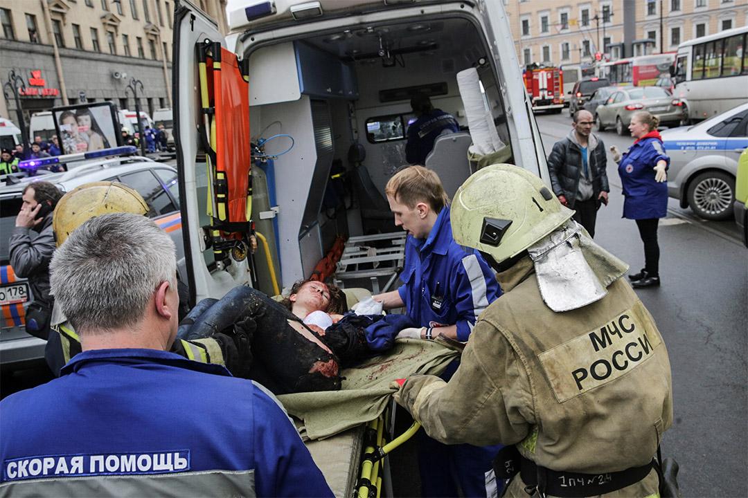 俄羅斯聖彼得堡一列地鐵發生連環爆炸,數人受傷。