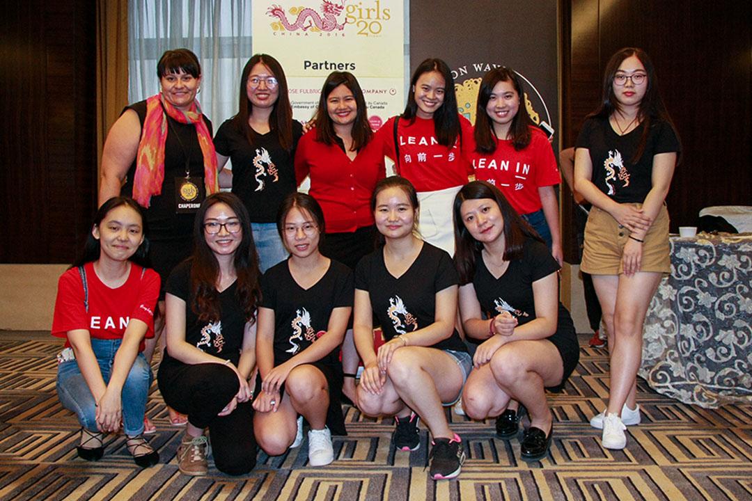 陳玉馨指希望將 Lean In 理念傳遞給更廣泛的女性群體,鼓勵她們追求理想。