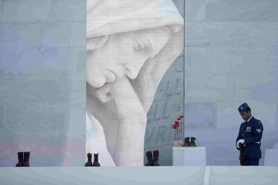 2017年4月9日,法國維米 (Vimy) 加拿大國家紀念館舉行紀念儀式,紀念第一次世界大戰維米嶺戰役100周年。