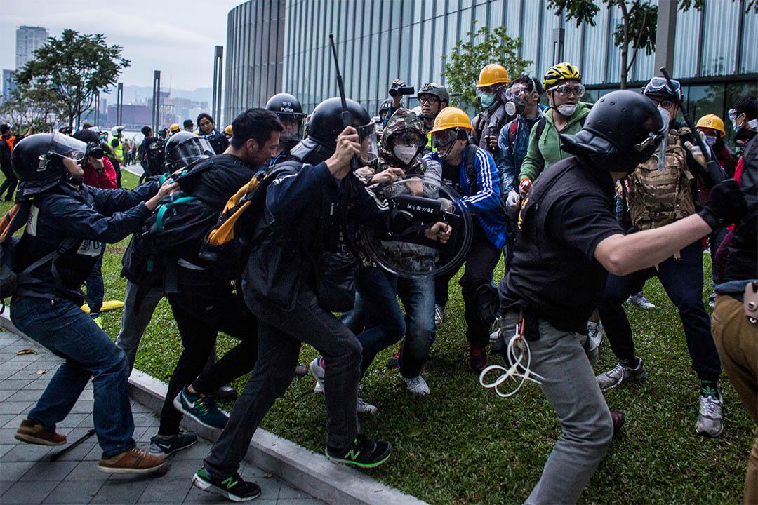 2014年佔領運動。