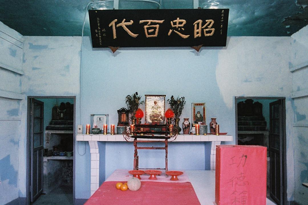一江山烈士紀念祠。