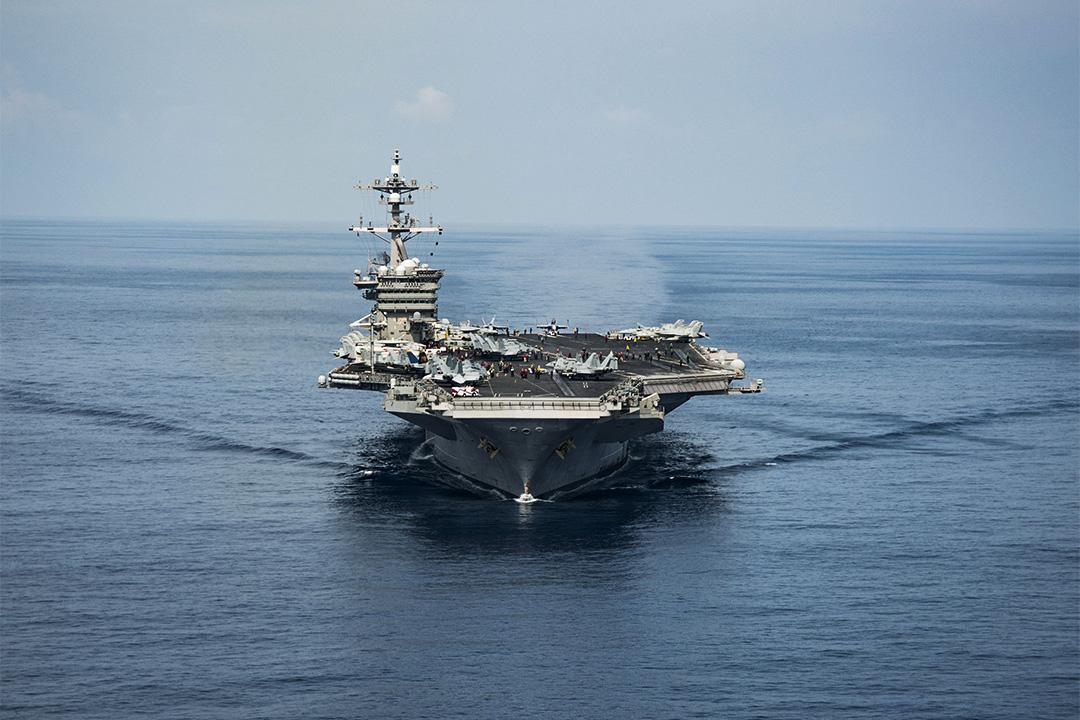 日本與美國卡爾·文森號航母戰鬥群將展開聯合演習。