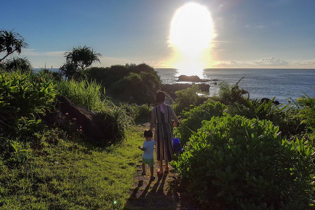 我明白了父母帶着幼兒去旅行始終是為了自己,這些記憶是屬於成人的,而非稚齡的孩童。