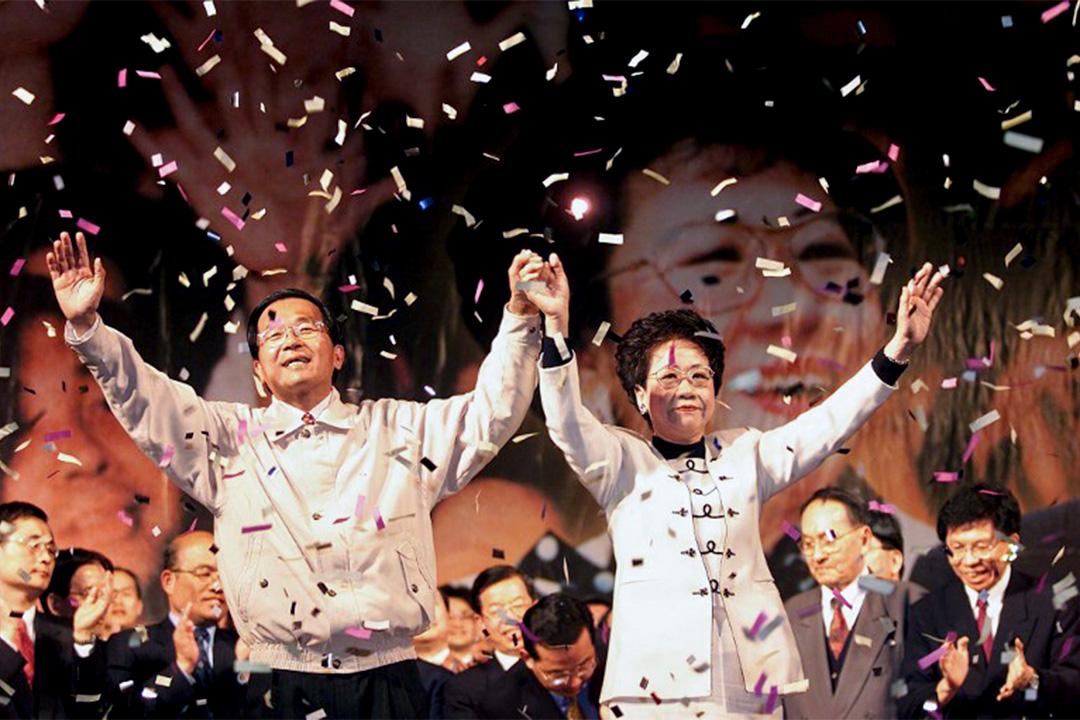 2000年當選總統是陳水扁從政生涯的最高峰。