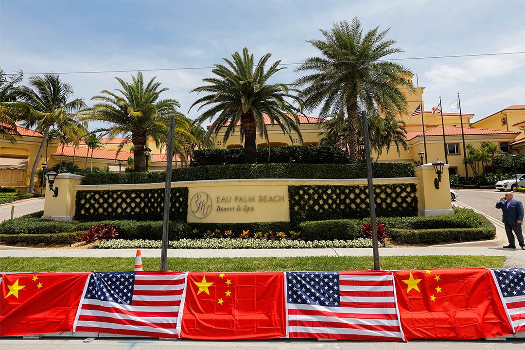 中國國家主席習近平與美國總統特朗普即將在位於棕櫚灘島上的海湖莊園(Mar-a-Lago)會面。