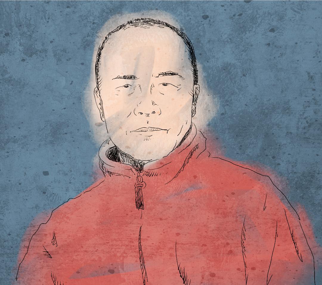 王力雄嚴肅地和小朋友們談心,痛心疾首說:「二十幾年前,和你們一樣年齡的大學生們在為中國爭自由民主不惜流血,你們想想自己在做什麼?!」