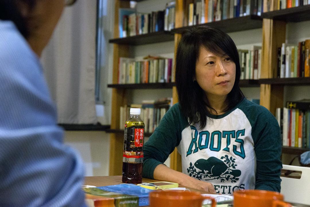 PHEDO 的核心成員:南港高中國際人文實驗班老師林靜君。