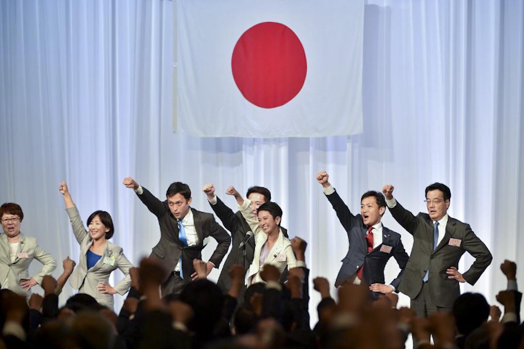 2016年9月15日,蓮舫經選舉成功獲任民進黨黨主席,她成了自20世紀90年代以來,日本主要反對黨的首位女性黨首。