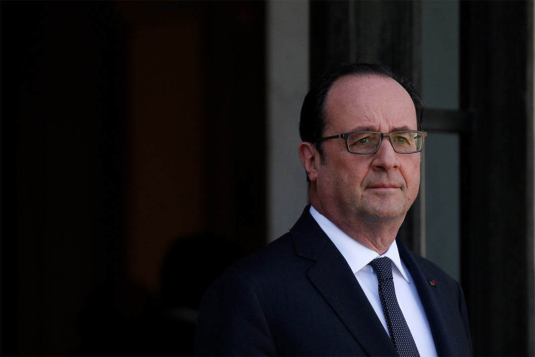 法國總統奧朗德(Francois Hollande)。