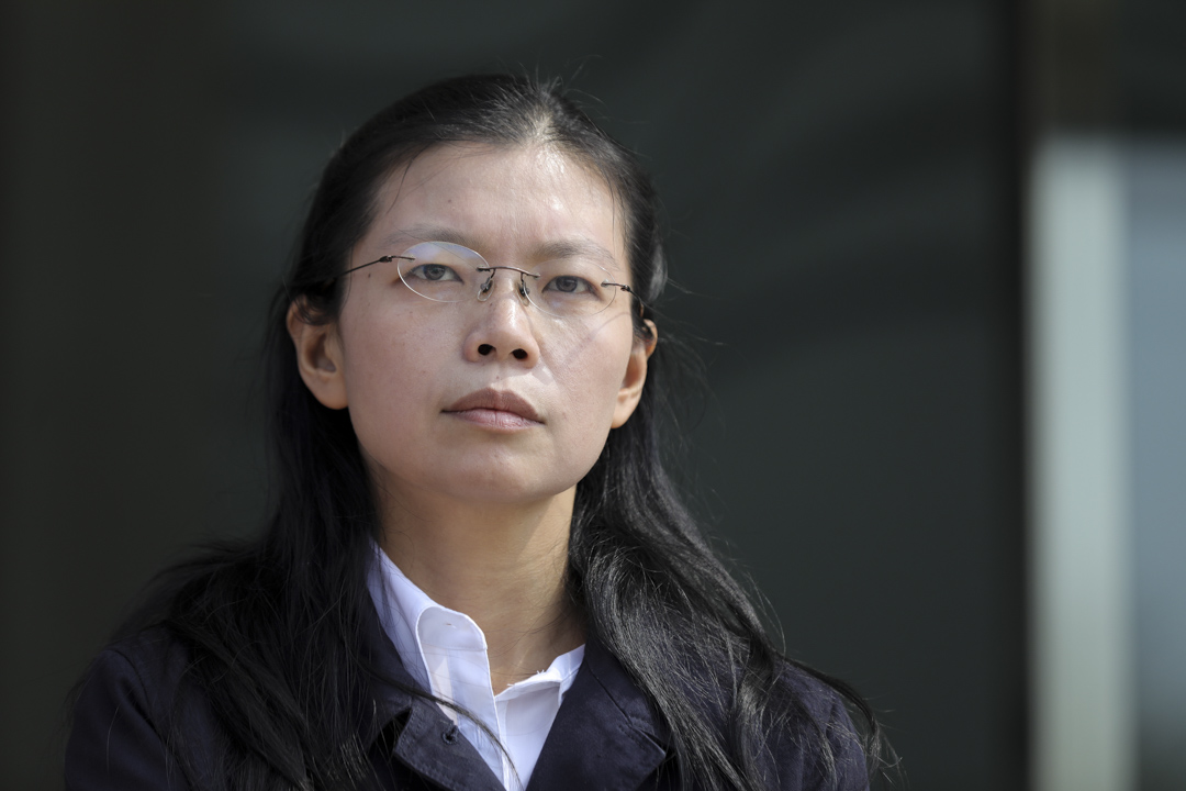 2017年3月28日,李明哲太太在文山社區大學校長及民間團體的陪同下,前往海基會送藥,希望海基會轉交中國政府。