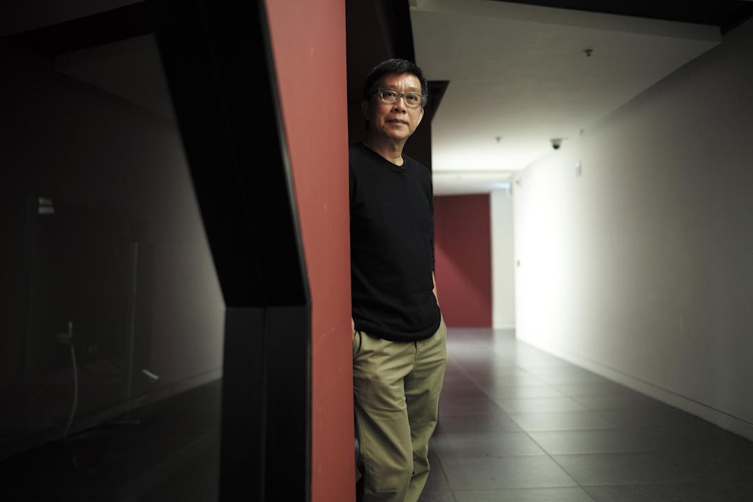 有關六七暴動的劇情片《中英街一號》導演趙崇基。