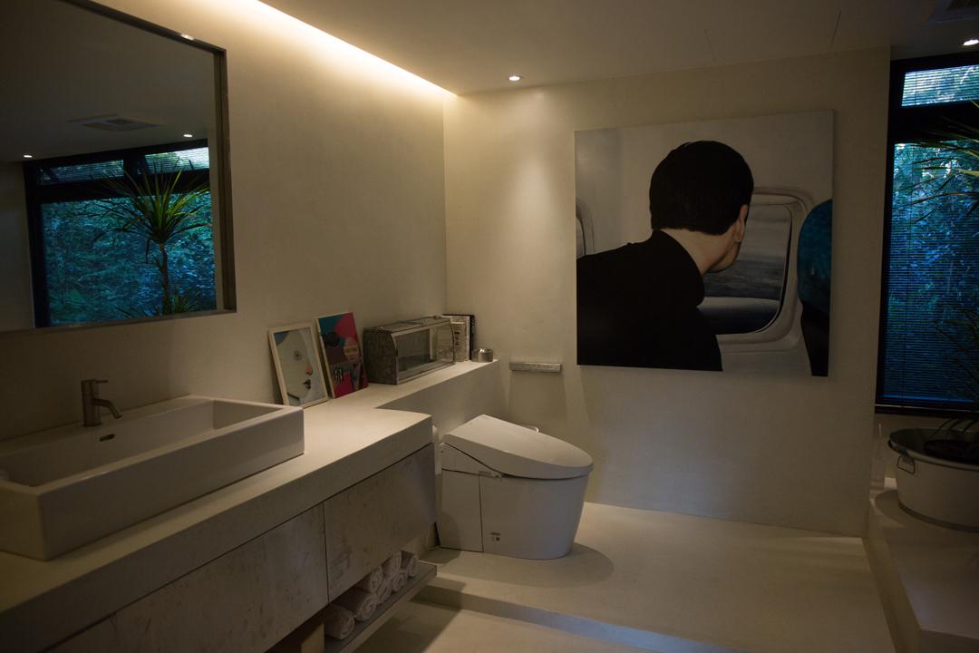 衛浴和廁所空間。