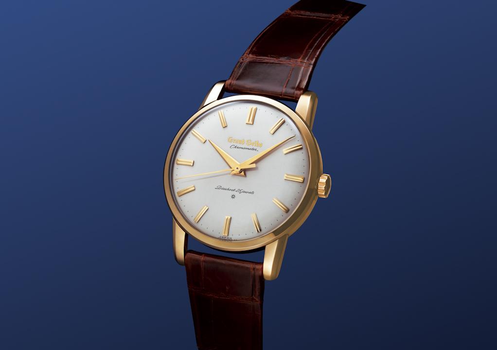 1960年推出的第一枚Grand Seiko