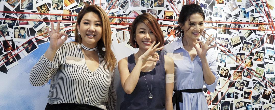 2017年5月4日,鄭欣宜、彭秀慧和周秀娜出席電影《29+1》宣傳會。