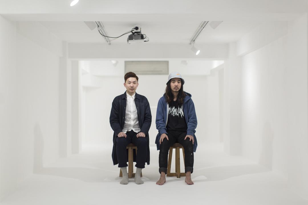 《乒乓》的設計團隊代表 Leumas 和阿哲。