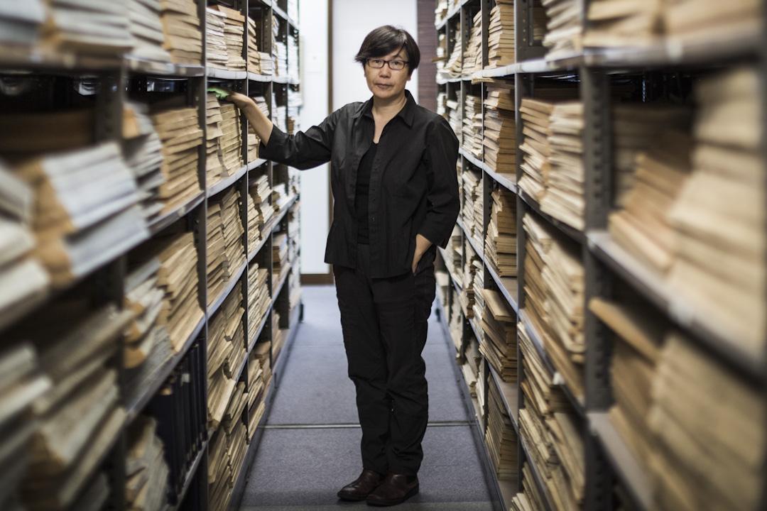 講述六七暴動的紀錄片《消失的檔案》導演羅恩惠。