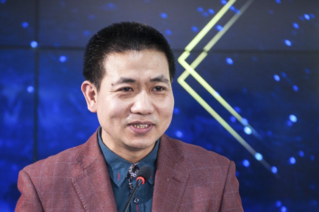 2017年1月19日,晉江文學城創始人兼副總裁劉旭東在新華網主辦的2016年優秀網絡文學原創作品評審會上發言。