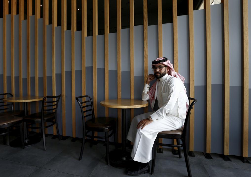 28歲的 Nayef al-Hayzan 說特朗普到訪沙特阿拉伯會為當地經濟帶來正面的影響。