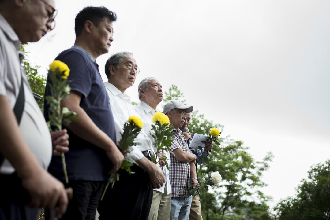 2017年5月7日,「六七動力研究社」成員、六七暴動被捕者及暴動中的死者家屬約120人,到和合石墳場舉行公祭會,拜祭六七暴動其中16位死者。