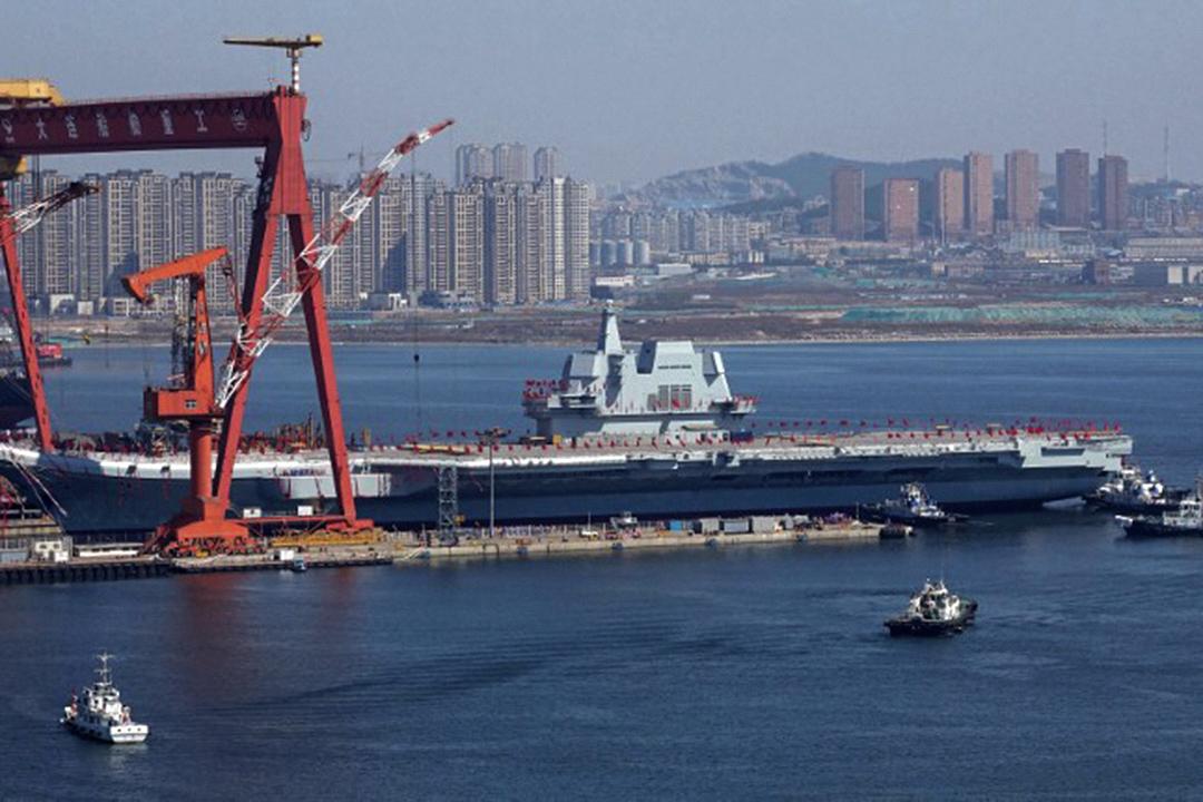 中國首艘國產航空母艦下水,不同於收購後改裝的遼寧號,001A的意義在於中國踏入可持續的航母世代。