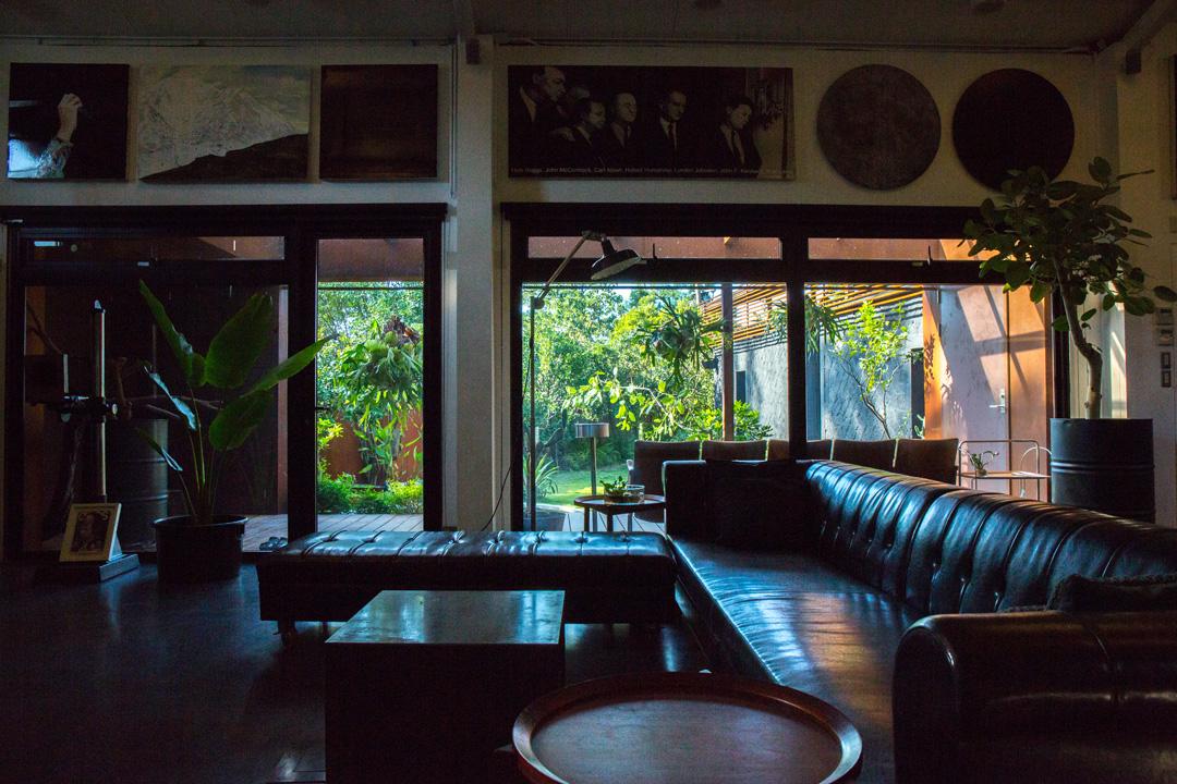 伊日生活美學總經理黃禹銘在淡水的私宅。