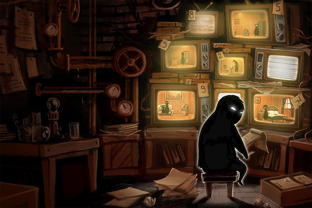 俄羅斯遊戲公司推出的冒險策略遊戲 《旁觀者》(Beholder) 出色地設計出了一個極權江湖裏小人物的命運。 遊戲海報