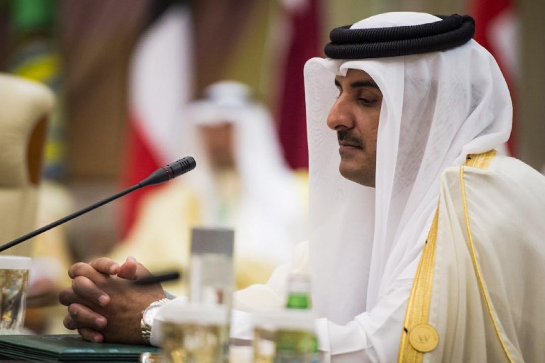 卡塔尔君主塔米姆。