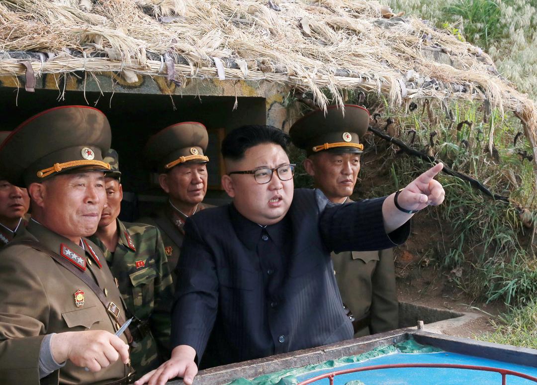 日本《朝日新聞》報道,南韓前總統朴槿惠曾於2015年計劃暗殺北韓領袖金正恩。 來源:KCNA/ Reuters