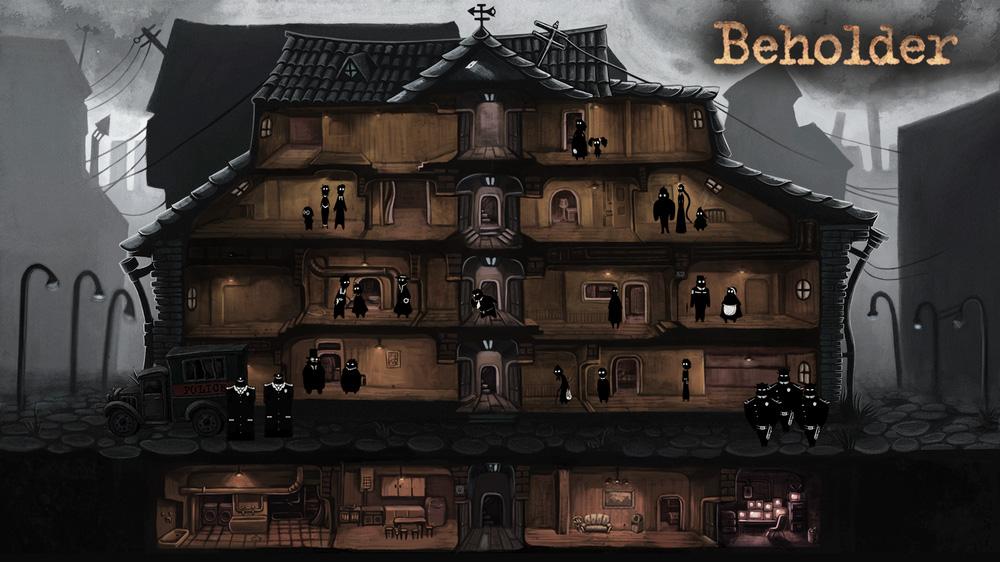 遊戲中會有十多位「有故事的人」申請入住公寓,你可以監視他們的一舉一動。