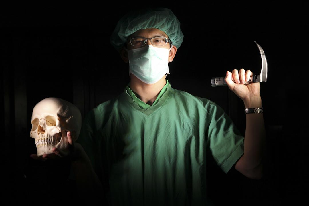 《醫療崩壞》系列。 張文瀚攝影作品
