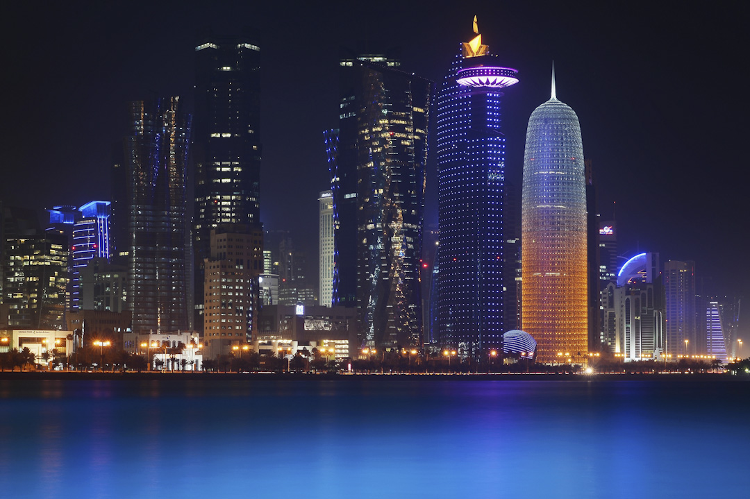 沙特、阿聯酋、巴林、埃及四國宣布與卡塔爾斷絕外交關係,並切斷與卡塔爾的一切海、空交通,這是海灣戰爭結束以來海灣地區最嚴重的危機。圖為卡塔爾的首都多哈。