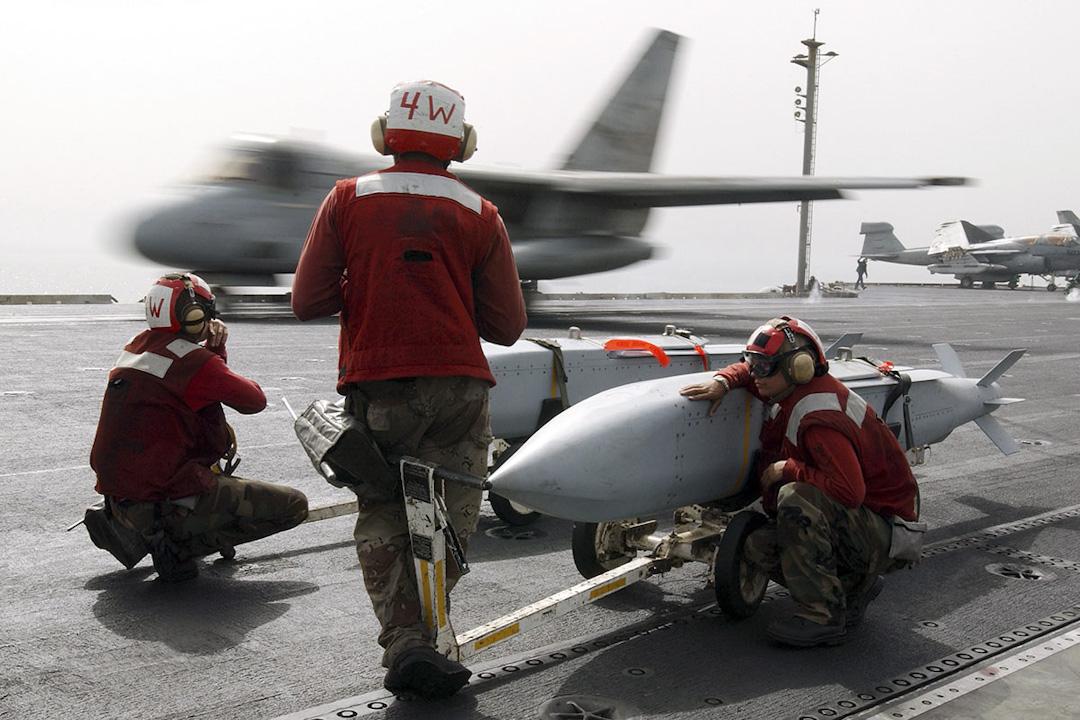 這次美國售予台灣的武器之中,最大突破是56枚 AGM-154 聯合距外武器(Joint Standoff Weapon,JSOW)。 圖:Department of the Navy