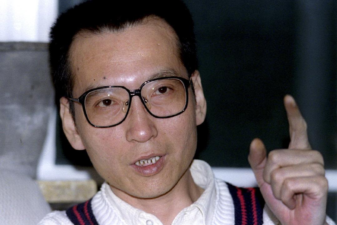 劉曉波在1995年3月5日接受傳媒訪問。