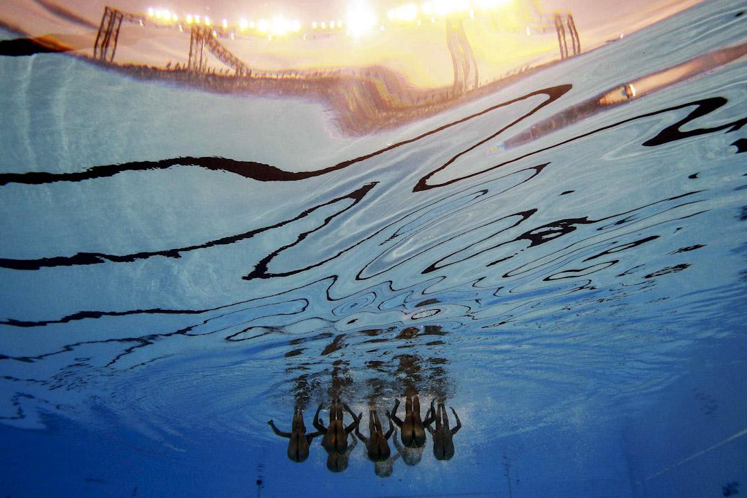 2017年7月17日,在匈牙利布達佩斯舉行世界世界游泳錦標賽女子集體技術賽初賽。