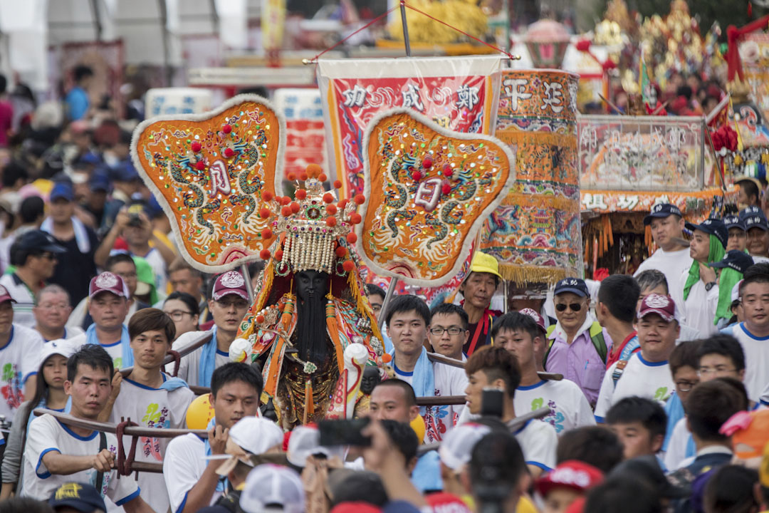 「史上最大科、眾神上凱道」大遊行,訴求「捍衛信仰、守護香火」