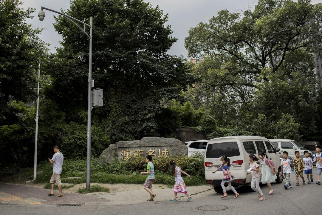 澳龍名城位於攀成鋼片區,顧強說,攀成鋼片區代表了成都人的「中國夢」。 攝:周強/端傳媒