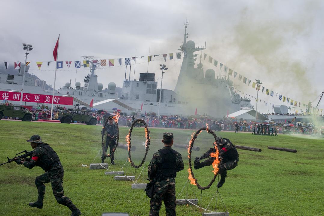昂船洲軍營。