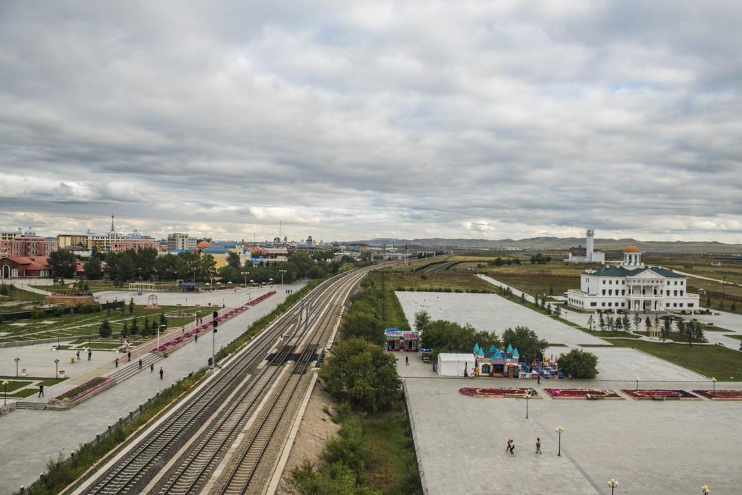 內蒙古滿洲裏41號口岸 。
