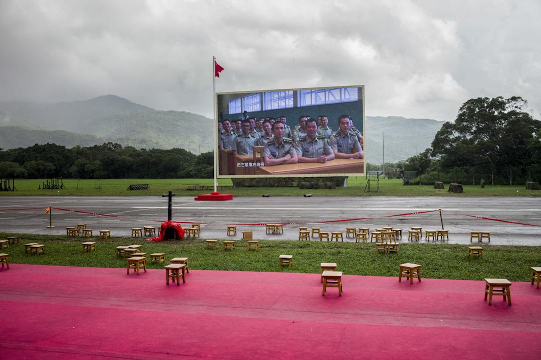 石崗軍營。 攝:林振東/端傳媒