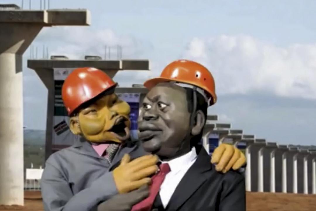 The XYZ Show來有的兩個中國人的角色Mr. Li和Mr. Hu,他們主要以個體中國移民及投資商人的角色出現,從側面印證了中非民間的商業融合。圖為影片中的Mr. Li(左)。