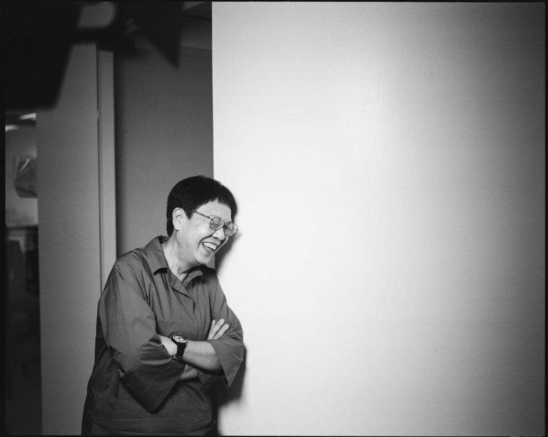 電影《明月幾時有》導演許鞍華。 攝:林振東/端傳媒