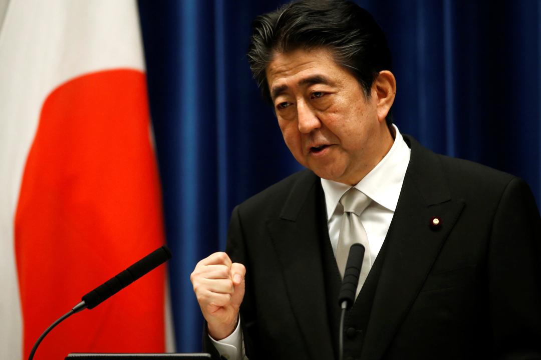 日本首相安倍晉三今天宣布新內閣名單,但外界對他藉改組內閣挽回民望未感樂觀。 攝:Kim Kyung-hoon / Reuters