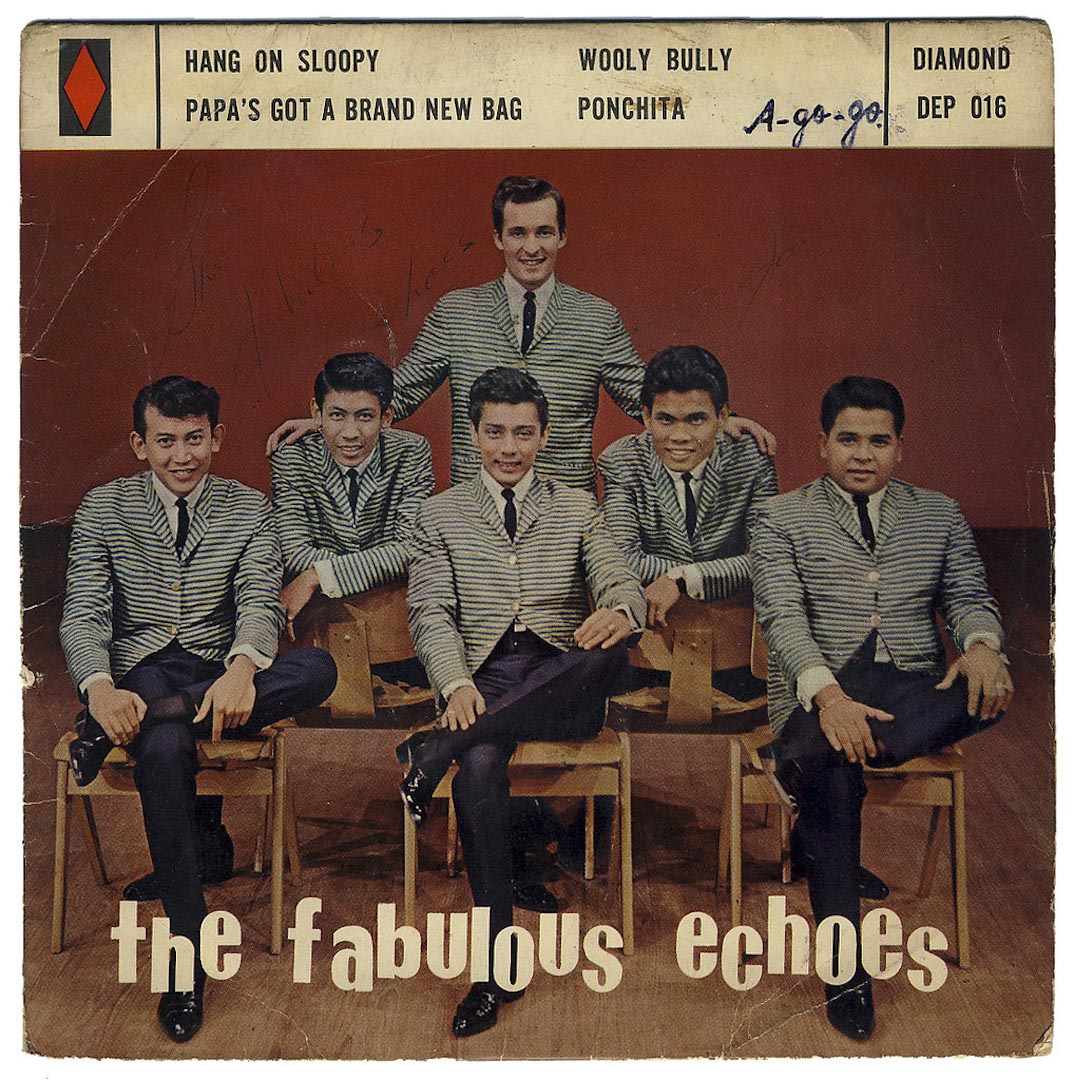 The Fabulous Echoes 其中一張唱片的封面。